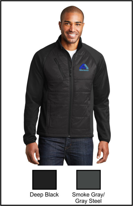 Albertsons J787 Hybrid Soft Shell Jacket
