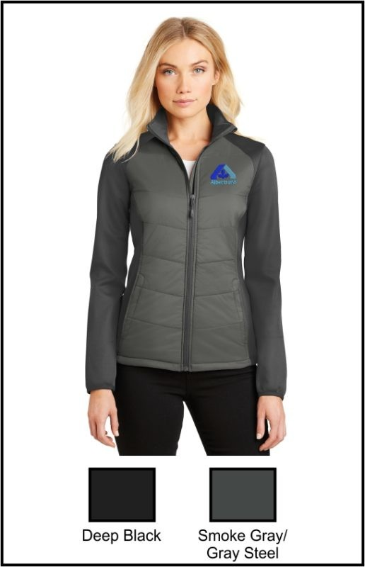 Albertsons L787 Ladies Hybrid Soft Shell Jacket