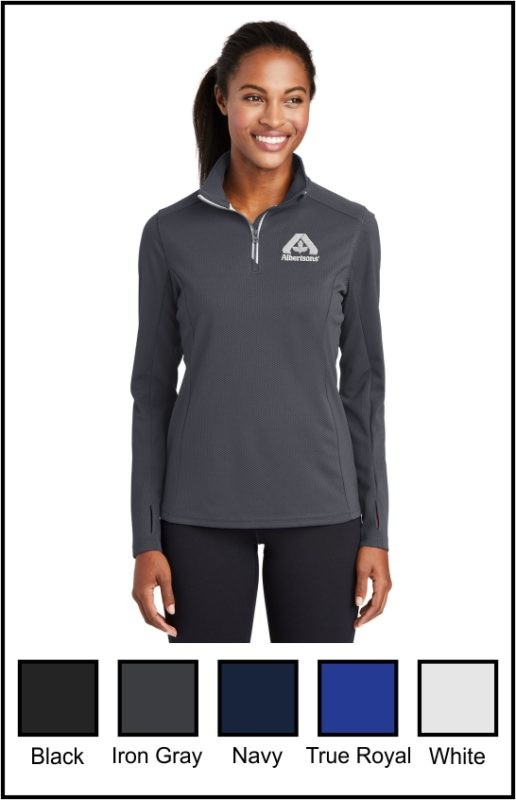 Albertsons LST860 Ladies 1/4 Zip Pullover