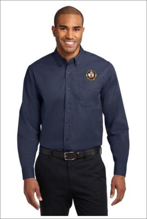 Z0203 Team 6 Long Sleeve Dress Shirt