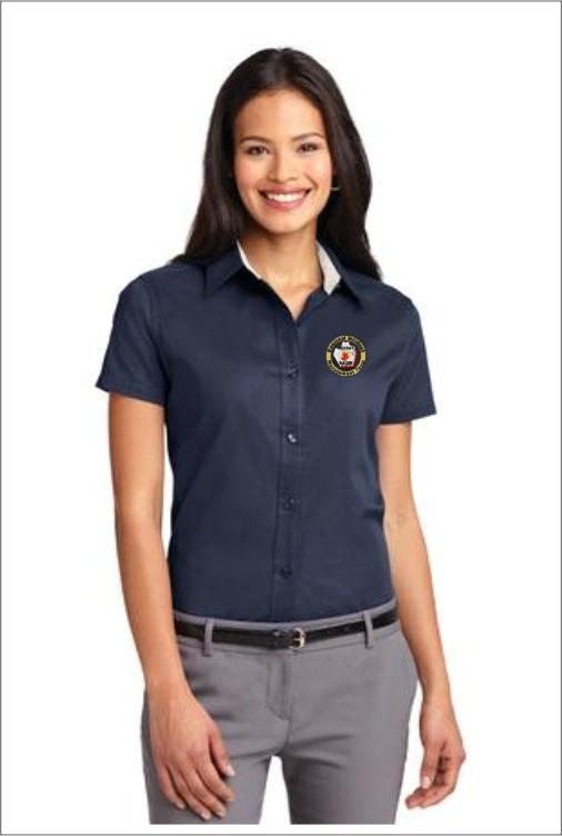 Z0205 Team 6 Ladies Dress Shirt