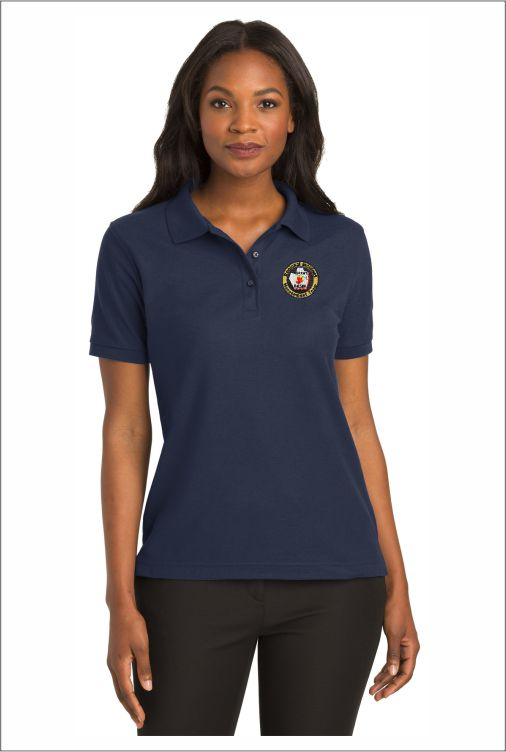 Z0221 Port Authority Ladies Silk Touch Polo