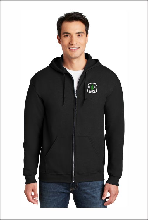 Z0416 Gildan Heavy Blend Full-Zip Hooded Sweatshirt