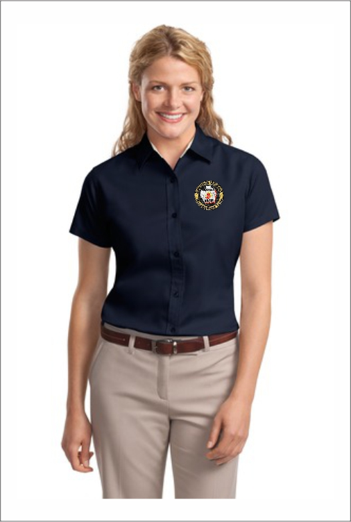Z0603 GBRIMT Bird Ladies Dress Shirt