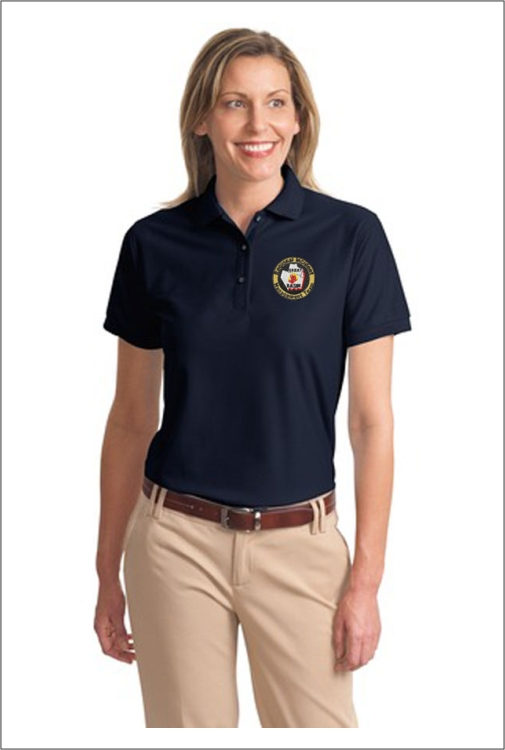 Z0610 GBRIMT Bird Ladies Polo