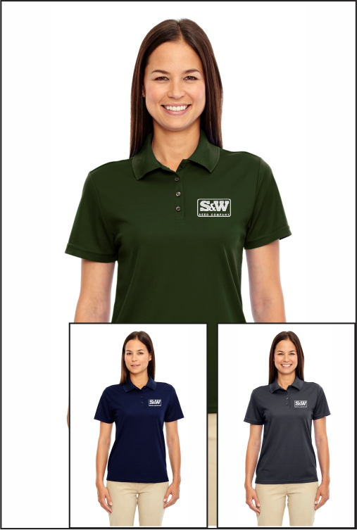 Z1003 S&W Ladies Origin Performance Polo