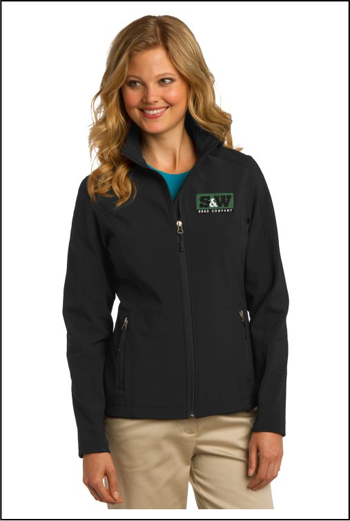 Z1026 S&W Ladies Core Soft Shell Jacket