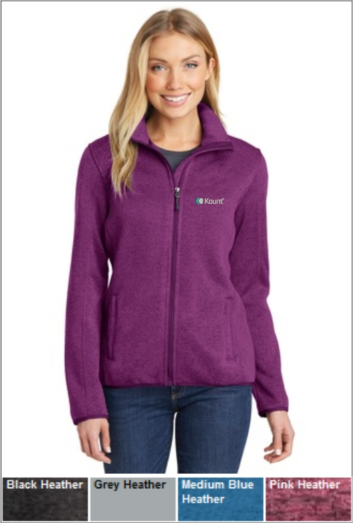 Z1255 Kount Ladies Fleece Jacket