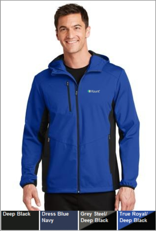 Z1258 Kount Hooded Soft Shell Jacket