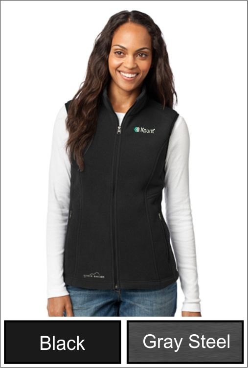 Z1271 Kount Eddie Bauer® - Ladies Fleece Vest