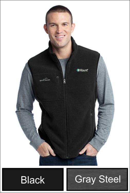 Z1272 Kount Eddie Bauer® - Men's Fleece Vest