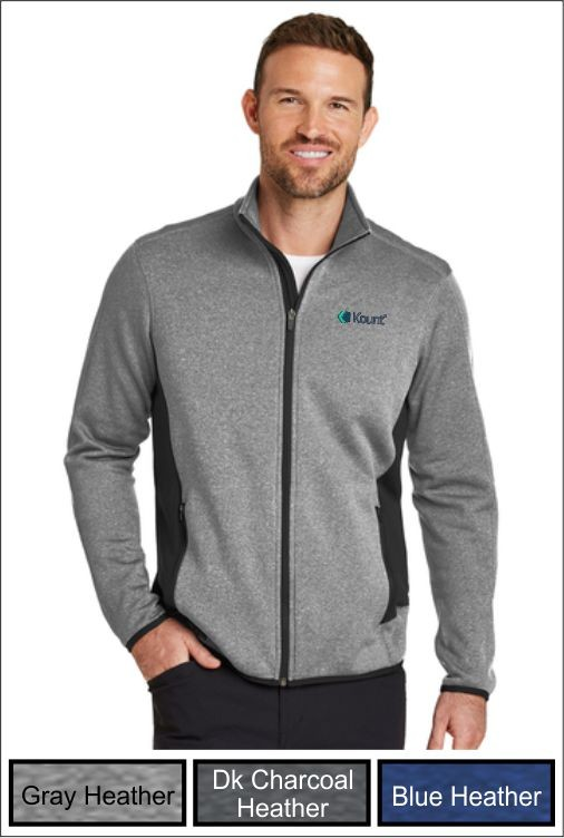 Z1275 Kount Eddie Bauer® Men's Full-Zip Stretch Fleece Jacket