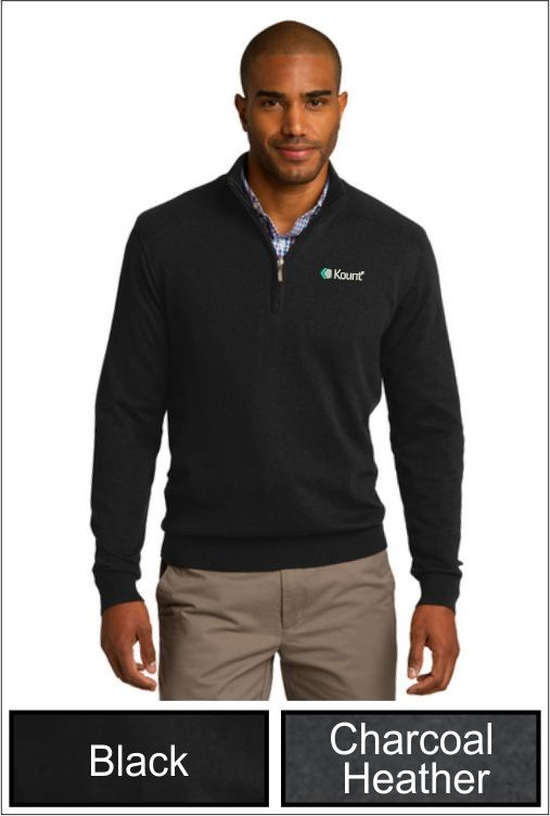 Z1279 Kount Port Authority® 1/2-Zip Sweater