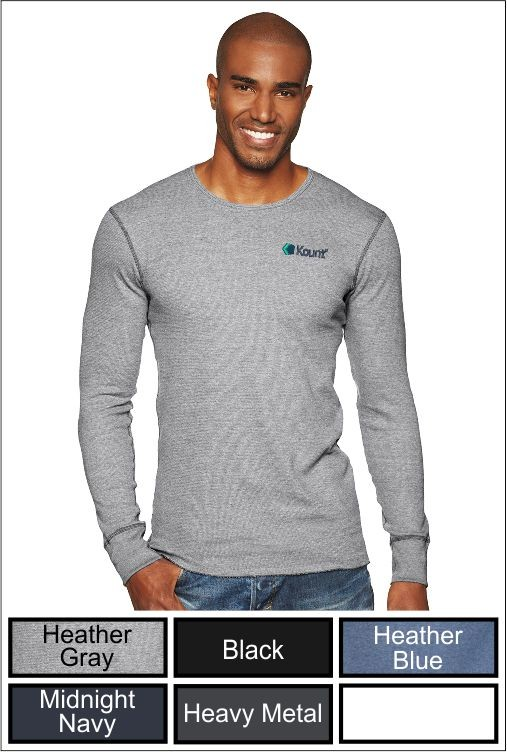 Z1281 Kount Next Level Adult Long-Sleeve Thermal