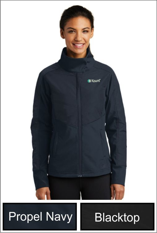 Z1283 Kount OGIO® ENDURANCE Ladies Brink Soft Shell