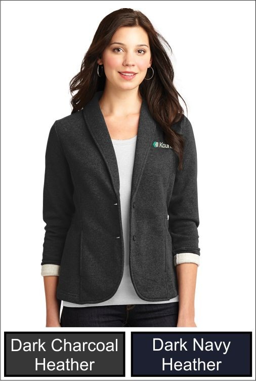 Z1287 Kount Port Authority Ladies Fleece Blazer
