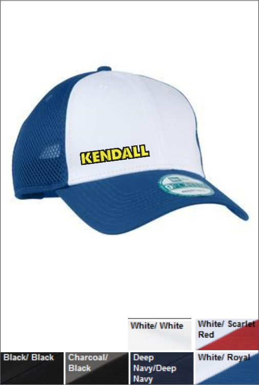 Z1804 Kendall Snapback Mesh Back Cap