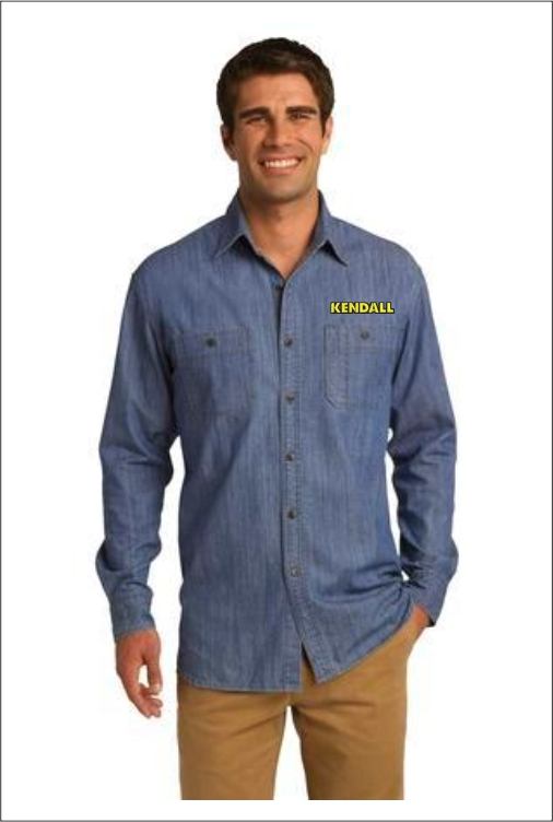 Z1820 Kendall Men's Denim Shirt