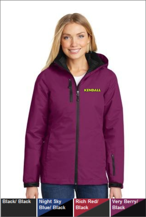 Z1826 Kendall Women's Vortex 3 in 1 Jacket