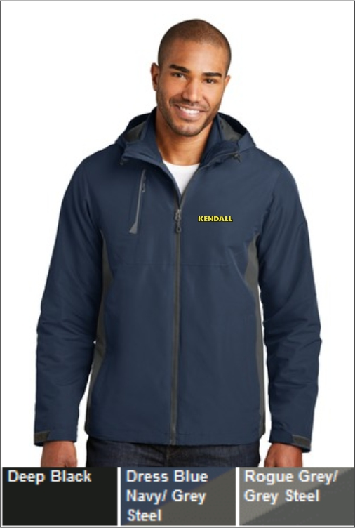 Z1829 Kendall Men's Merge 3 in 1 Jacket