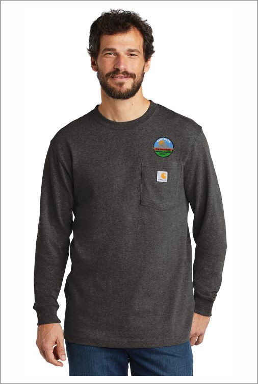 Z1919 SNF Carhartt Workwear Pocket Long Sleeve T-Shirt