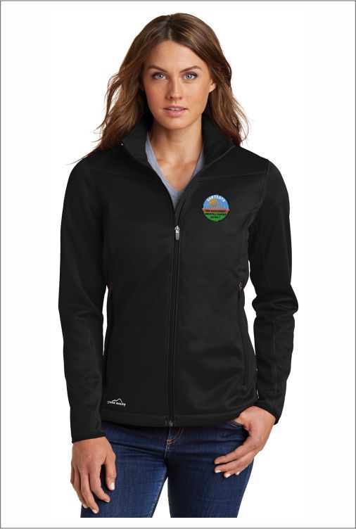 Z1925 SNF Eddie Bauer Ladies Weather-Resist Soft Shell Jacket