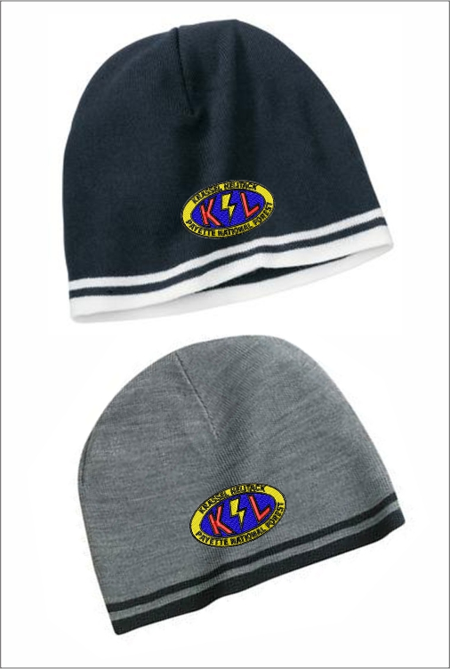 Z2610 PNF-K Striped Fleece Beenie
