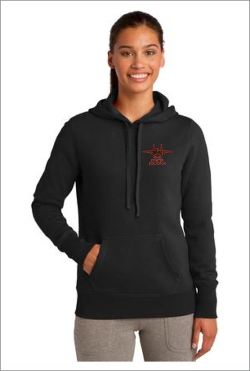 Z3202 494th Ladies Pullover Hoodie