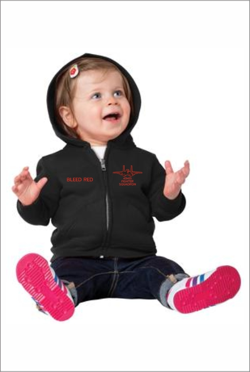 Z3204 494th Infant Full Zip Hoodie
