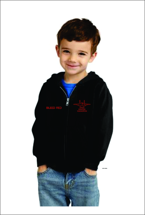 Z3205 494th Toddler Full Zip Hoodie