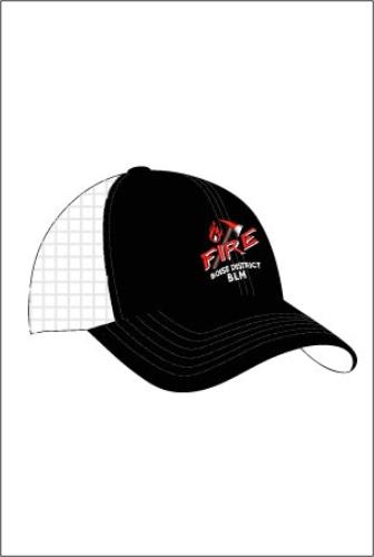 """Z3315 BD """"Axe"""" Trucker Mesh Cap"""