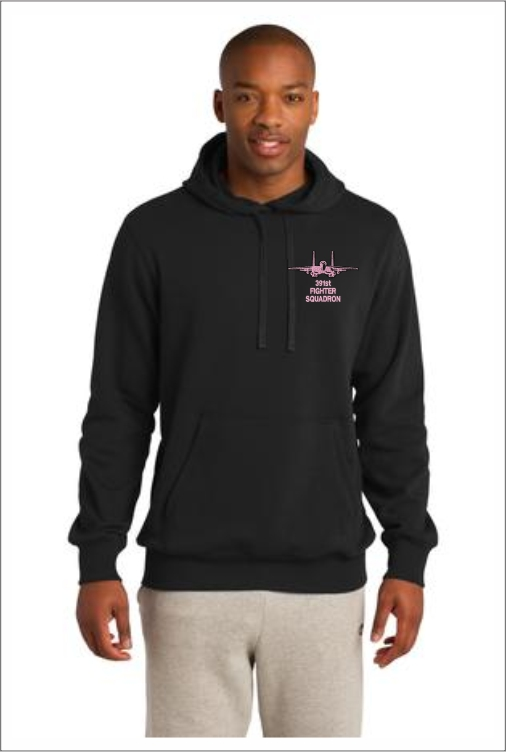 "Z5409 391st ""Pink Logo"" Pullover Hoodie"