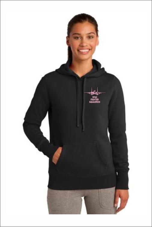 """Z5410 391st """"Pink Logo"""" Ladies Pullover Hoodie"""