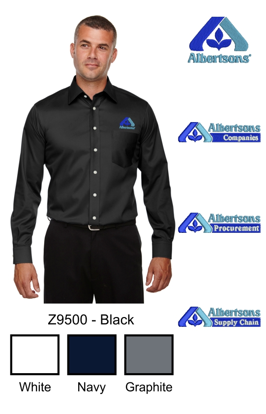 Z9500 D& J Men's Crown Collection™ Solid Stretch Twill